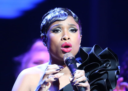 Singer/actress Jennifer Hudson performs onstage at the Center Theatre Group 50th Anniversary Celebration at Ahmanson Theatre on May 20, 2017 in Los Angeles, California.