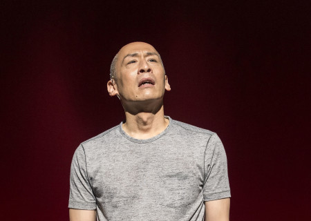 "Francis Jue in the world premiere of David Henry Hwang and Jeanine Tesori's ""Soft Power"" at Center Theatre Group/Ahmanson Theatre. Directed by Leigh Silverman and choreographed by Sam Pinkleton, ""Soft Power"" runs through June 10, 2018. For tickets and information, please visit CenterTheatreGroup.org or call (213) 972-4400. Media Contact: CTGMedia@CTGLA.org / (213) 972-7376. Photo by Craig Schwartz."