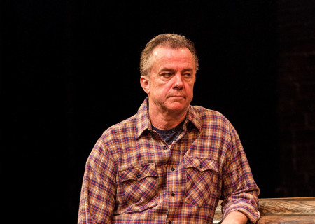 "Michael O'Keefe in the Center Theatre Group production of ""Sweat"" at the Mark Taper Forum. Directed by Lisa Peterson and written by Lynn Nottage, ""Sweat"" will play through October 7, 2018. For tickets and information, please visit CenterTheatreGroup.org or call (213) 628-2772. Media Contact: CTGMedia@CTGLA.org / (213) 972-7376. Photo by Craig Schwartz."