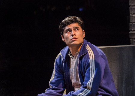 "Peter Mendoza in the Center Theatre Group production of ""Sweat"" at the Mark Taper Forum. Directed by Lisa Peterson and written by Lynn Nottage, ""Sweat"" will play through October 7, 2018. For tickets and information, please visit CenterTheatreGroup.org or call (213) 628-2772. Media Contact: CTGMedia@CTGLA.org / (213) 972-7376. Photo by Craig Schwartz."