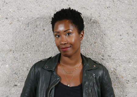 """Playwright Zakiyyah Alexander, whose new play """"How To Raise A Freeman"""" will be presented as part of Center Theatre Group's inaugural L.A. Writers' Workshop Festival on June 23 at the Kirk Douglas Theatre. Media Contact: CTGMedia@CTGLA.org / (213) 972-7376. Photo by Ryan Miller/Capture Imaging."""