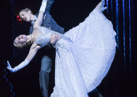 "Ashley Shaw and Andrew Monaghan in Matthew Bourne's ""Cinderella,"" which will be presented by Center Theatre Group at the Ahmanson Theatre February 5 through March 10, 2019. For tickets and information, please visit CenterTheatreGroup.org or call (213) 972-4400. Press Contact: CTGMedia@CTGLA.org / (213) 972-7376. Photo by Johan Persson."