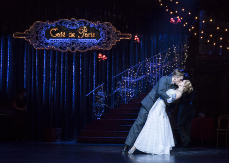 "Andrew Monaghan and Ashley Shaw in Matthew Bourne's ""Cinderella,"" which will be presented by Center Theatre Group at the Ahmanson Theatre February 5 through March 10, 2019. For tickets and information, please visit CenterTheatreGroup.org or call (213) 972-4400. Press Contact: CTGMedia@CTGLA.org / (213) 972-7376. Photo by Johan Persson."
