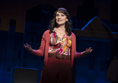 "Eden Espinosa, from the First National Tour of ""Falsettos,"" which will play at the Ahmanson Theatre April 16 through May 19, 2019. For tickets and information, please visit CenterTheatreGroup.org or call (213) 972-4400. Press Contact: CTGMedia@CTGLA.org / (213) 972-7376. Photo by Joan Marcus."