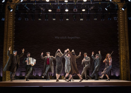 "The company of Paula Vogel's ""Indecent."" A co-production with Huntington Theatre Company, ""Indecent"" runs through July 7, 2019 at the Ahmanson Theatre. For more information, please visit CenterTheatreGroup.org. Press Contact: CTGMedia@CTGLA.org / (213) 972-7376. Photo by Craig Schwartz."