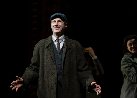 "Richard Topol in ""Indecent"" at Huntington Theatre Company. A co-production with Center Theatre Group, ""Indecent"" runs June 5 through July 7, 2019 at the Ahmanson Theatre. For more information, please visit CenterTheatreGroup.org. Press Contact: CTGMedia@CTGLA.org / (213) 972-7376. Photo by T. Charles Erickson."