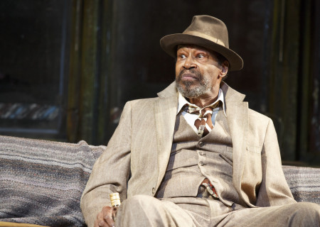 """Anthony Chisholm in the Manhattan Theatre Club production of August Wilson's """"Jitney."""" Directed by Ruben Santiago-Hudson, """"Jitney"""" will play at the Mark Taper Forum November 22 through December 29, 2019. For tickets and information, please visit CenterTheatreGroup.org or call (213) 628-2772. Media Contact: CTGMedia@CTGLA.org / (213) 972-7376. Photo by Joan Marcus."""