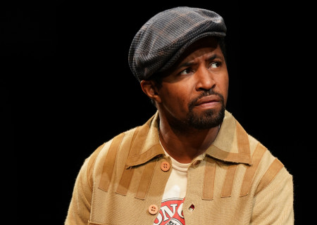 "Amari Cheatom in August Wilson's ""Jitney"" directed by Ruben Santiago-Hudson. ""Jitney"" will play at the Mark Taper Forum November 22 through December 29, 2019. For tickets and information, please visit CenterTheatreGroup.org or call (213) 628-2772. Media Contact: CTGMedia@CTGLA.org / (213) 972-7376. Photo by Joan Marcus."