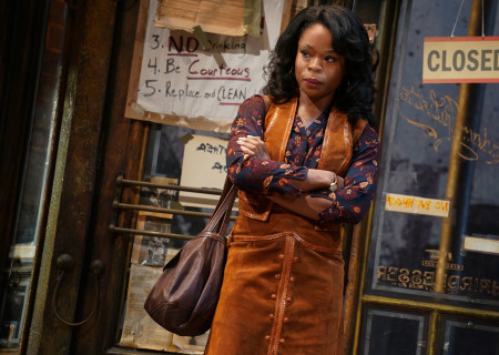 "Nija Okoro in August Wilson's ""Jitney"" directed by Ruben Santiago-Hudson. ""Jitney"" will play at the Mark Taper Forum November 22 through December 29, 2019. For tickets and information, please visit CenterTheatreGroup.org or call (213) 628-2772. Media Contact: CTGMedia@CTGLA.org / (213) 972-7376. Photo by Joan Marcus."