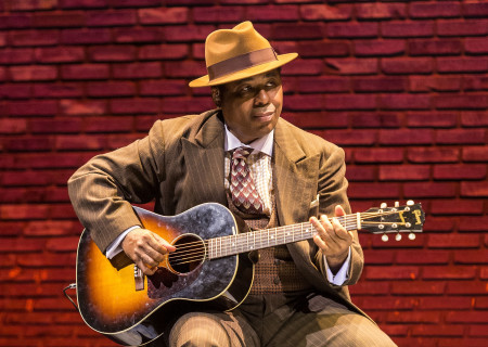 "Chris Thomas King in the Center Theatre Group production of ""Lackawanna Blues."" Written and directed by Ruben Santiago-Hudson, ""Lackawanna Blues"" will play at the Mark Taper Forum through April 21, 2019. For tickets and information, please visit CenterTheatreGroup.org or call (213) 628-2772. Press Contact: CTGMedia@CTGLA.org / (213) 972-7376. Photo by Craig Schwartz"