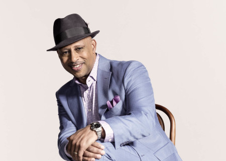 """Ruben Santiago-Hudson will perform his """"Lackawanna Blues"""" March 5 through April 21 at the Mark Taper Forum. For tickets and information, please visit CenterTheatreGroup.org or call (213) 628-2772. Press Contact: CTGMedia@CTGLA.org / (213) 972-7376. Photo by Benedict Evans."""