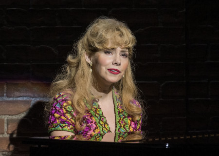 "Nellie McKay in the world premiere of ""A Play Is a Poem."" Written by Ethan Coen and directed by Neil Pepe, ""A Play Is a Poem"" runs through October 13, 2019, at Center Theatre Group/Mark Taper Forum. For tickets and information, please visit CenterTheatreGroup.org or call (213) 628-2772. Media Contact: CTGMedia@CTGLA.org / (213) 972-7376. Photo by Craig Schwartz."