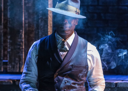 "Noel Arthur in ""Native Son"" at Center Theatre Group's Kirk Douglas Theatre. Antaeus Theatre Company's production runs through April 28 as part of Block Party 2019. For more information, please visit CenterTheatreGroup.org. Press Contact: CTGMedia@CTGLA.org / (213) 972-7376. Photo by Craig Schwartz."