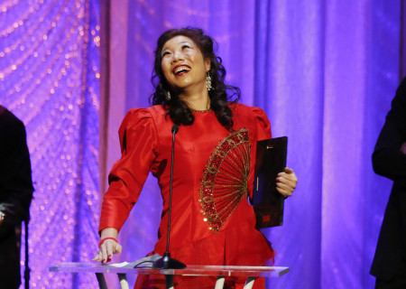 The 2019 Dorothy and Richard E. Sherwood Award Recipient Kristina Wong during the 29th Annual LA Stage Alliance Ovation Awards held at The Theatre at Ace Hotel on January 28, 2019 in Los Angeles, California. Media Contact: CTGMedia@CTGLA.org / (213) 972-7376. Photo by Ryan Miller/Capture Imaging.