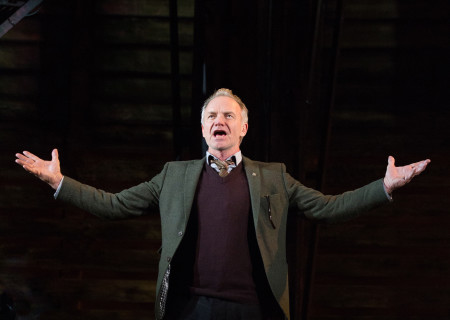 "Sting in the Toronto production of ""The Last Ship."" With a new book and direction by Lorne Campbell (original book by John Logan and Brian Yorkey) and music and lyrics by Sting, ""The Last Ship"" will be presented by Center Theatre Group at the Ahmanson Theatre January 14 through February 16, 2020. For more information, please visit CenterTheatreGroup.org. Press Contact: CTGMedia@CTGLA.org / (213) 972-7376. Photo by Cylla von Tiedemann."