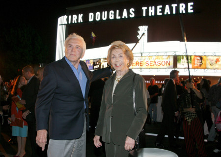 Kirk and Anne Douglas at the Center Theatre Group's Kirk Douglas Theatre Dedication and Celebration.