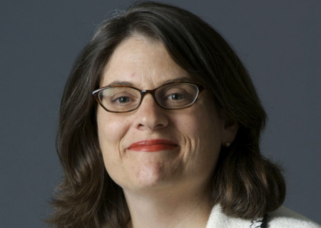 Center Theatre Group Board President Amy R. Forbes.