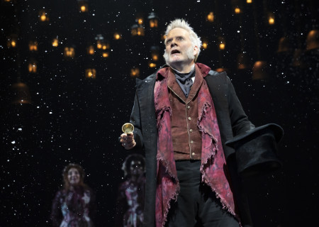Campbell Scott in 'A Christmas Carol' on Broadway. Photo by Joan Marcus.