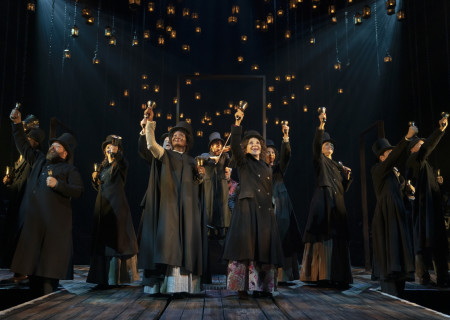 The Broadway Cast of 'A Christmas Carol.' Photo by Joan Marcus.