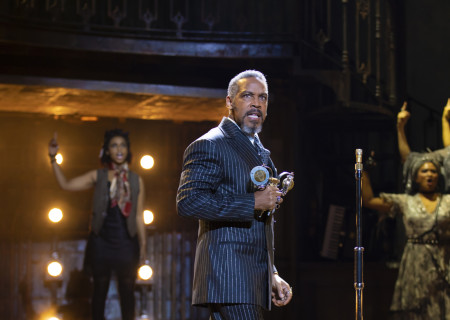 Kevyn Morrow in the 'Hadestown' North American Tour. Photo by T Charles Erickson.