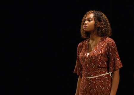 Hazel Eko performs in the 2021 August Wilson Monologue Competition (AWMC) Los Angeles Regional Finals hosted virtually by Center Theatre Group at the Kirk Douglas Theatre. Media Contact: (213) 972-7376 / CTGMedia@ctgla.org.