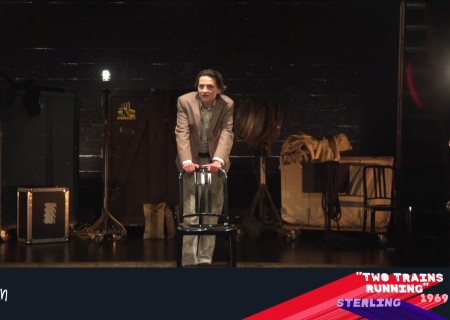 Stephen Moran performs in the 2021 August Wilson Monologue Competition (AWMC) Los Angeles Regional Finals hosted virtually by Center Theatre Group at the Kirk Douglas Theatre. Media Contact: (213) 972-7376 / CTGMedia@ctgla.org.