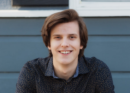 Landon Wouters will participate in the regional finals for the 2021 August Wilson Monologue Competition (AWMC) to be held virtually with participants performing on the stage of the Kirk Douglas Theatre in early March and streamed during the live event on March 23, 2021. Media Contact: (213) 972-7376 / CTGMedia@CTGLA.org. Photo by Ericka Kreutz.