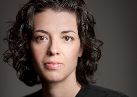 """Playwright Quiara Alegra Hudes. Hudes' """"Elliot, A Soldier's Fugue"""" will be part of the 2017-2018 season at Center Theatre Group's Kirk Douglas Theatre. Directed by Shishir Kurup, """"Elliot, A Soldier's Fugue"""" runs January 27 through February 25, 2018. For season tickets and information, please visit CenterTheatreGroup.org or call (213) 972-4444. Media Contact: CTGMedia@CTGLA.org / (213) 972-7376. Photo by Joseph Moran."""