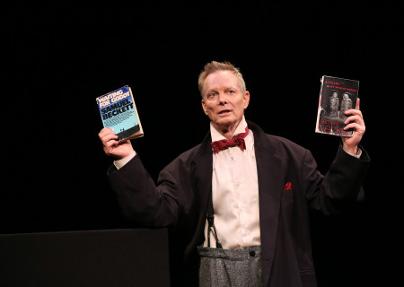 "Bill Irwin in ""On Beckett,"" which will be part of Center Theatre Group's 2019 – 2020 season at the Kirk Douglas Theatre. Conceived and performed by Irwin, ""On Beckett"" runs September 13 through October 27, 2019. For season tickets and information, please visit CenterTheatreGroup.org or call (213) 972-4444. Media Contact: CTGMedia@CTGLA.org / (213) 972-7376. Photo by Carol Rosegg."