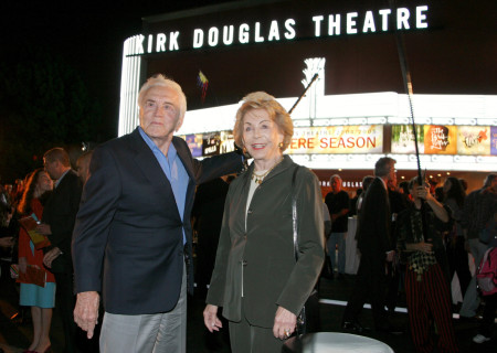 Kirk and Anne Douglas at the Center Theatre Group's Kirk Douglas Theatre Dedication and Celebration. (photo by Ryan Miller/Capture Imaging)