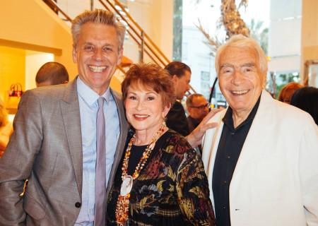 L to R: Michael Ritchie, Judi Davidson and Gordon Davidson.