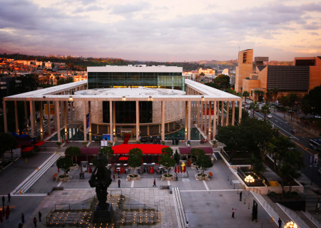 The Music Center Plaza. Photo by Ryan Miller/Capture Imaging.