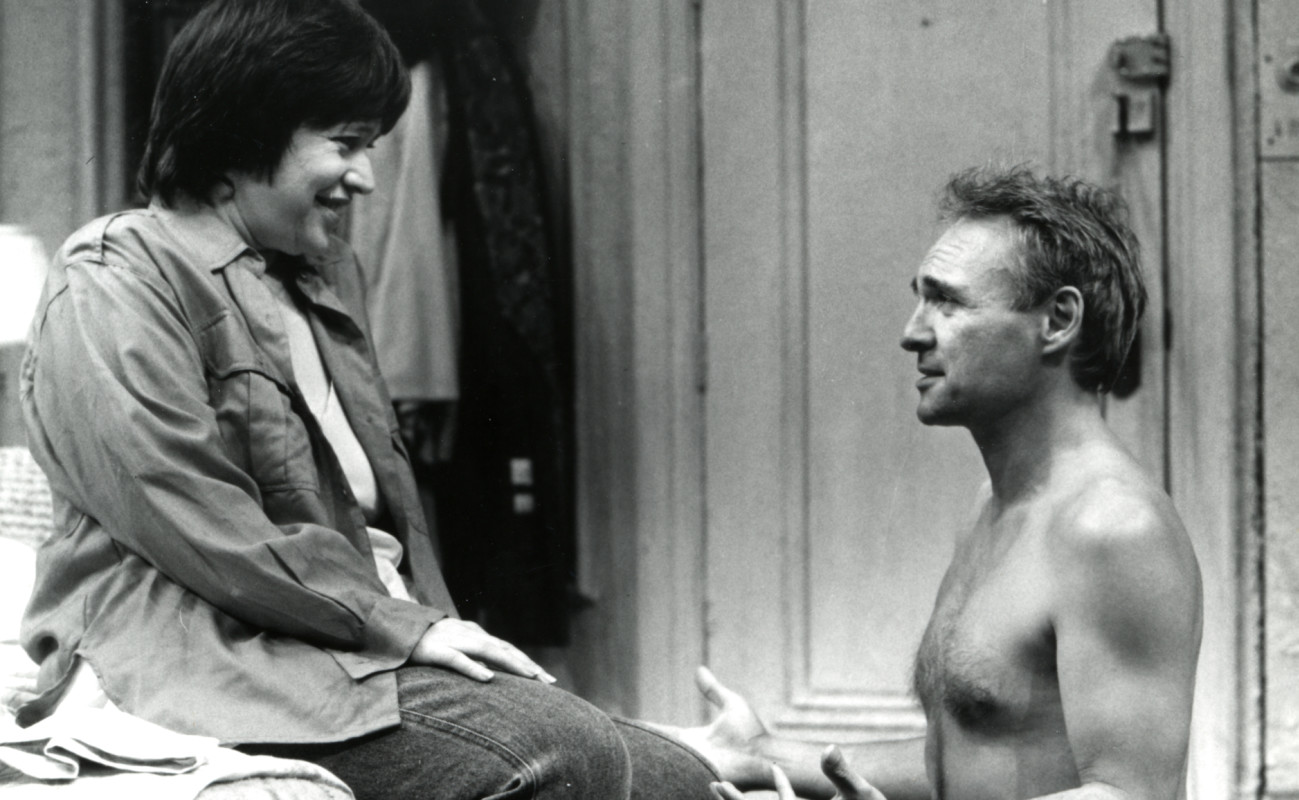 "Kathy Bates and Kenneth Welsh in Terrence McNally's ""Frankie and Johnny in the Clair de Lune"" at the Taper."