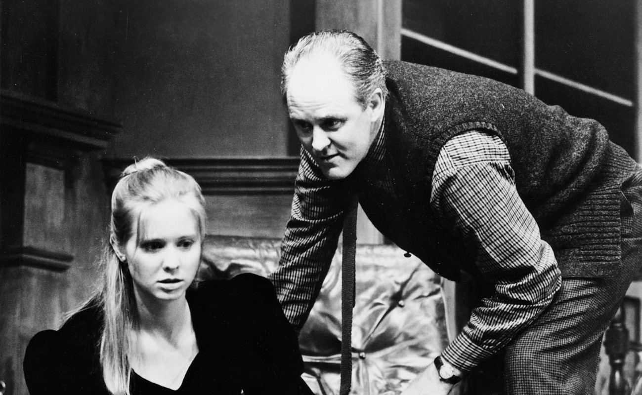 Cynthia Nixon and John Lithgow in 'Who's Afraid of Virginia Woolf?' at the Ahmanson.