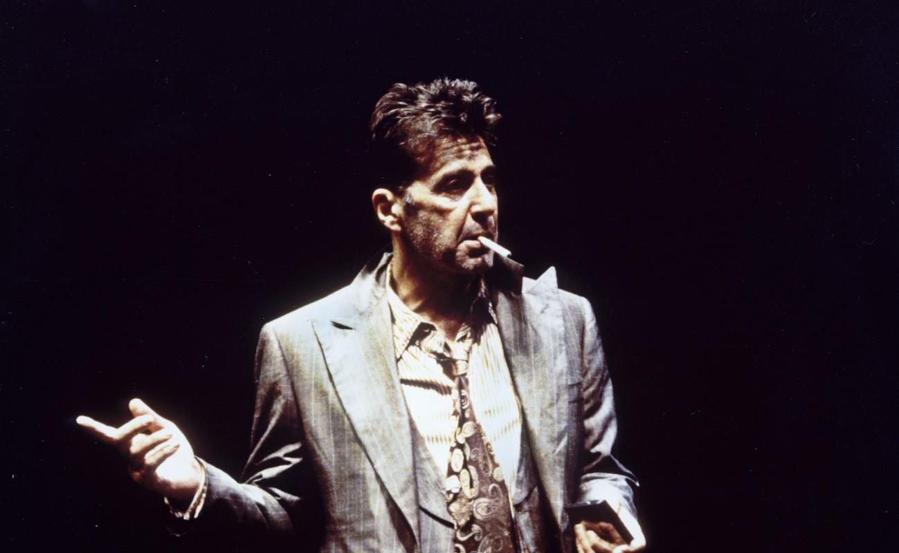 Al Pacino in 'Hughie.'