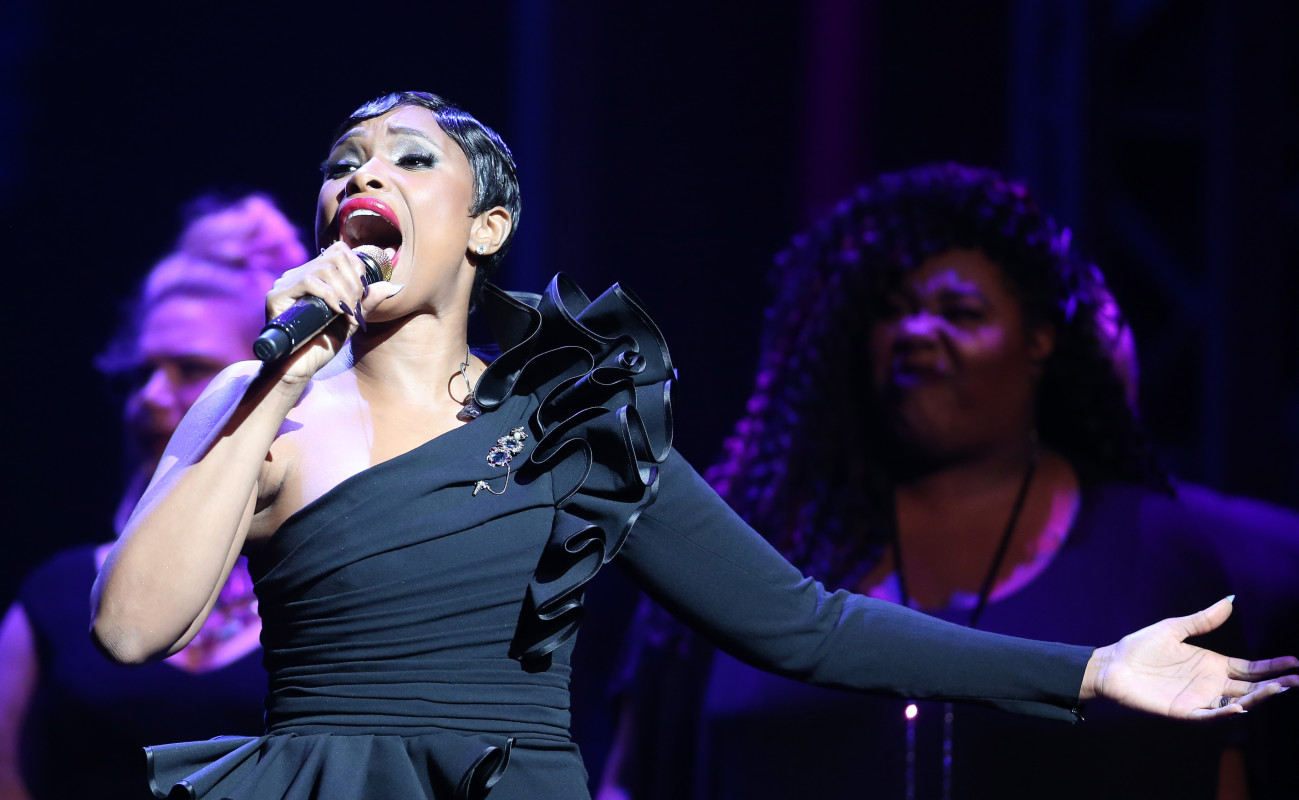 Jennifer Hudson performs at Center Theatre Group's 50th Anniversary Celebration.