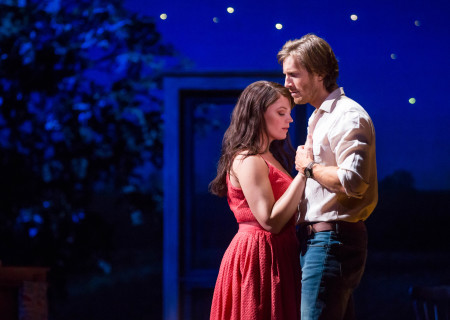 Elizabeth Stanley and Andrew Samonsky in the Tony Award-winning &quot;The Bridges of Madison County&quot; The Broadway Musical at the Center Theatre Group/Ahmanson Theatre, December 8, 2015, through January 17, 2016. &quot;Bridges&quot; has a book by Marsha Norman, music and lyrics by Jason Robert Brown and is based on the novel by Robert James Waller. Bartlett Sher directs. Tickets are available at CenterTheatreGroup.org or by calling (213) 972-4400.  <br />
