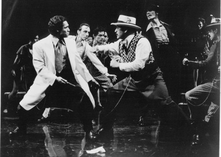 "L-R: The world premiere of ""Zoot Suit"" at the Mark Taper Forum in 1978. Written and directed by Luis Valdez and presented in association with El Teatro Campesino, the new production of ""Zoot Suit"" will play January 31 through March 12, 2017, as part of Center Theatre Group/Mark Taper Forum's 2017-2018 season at the Los Angeles Music Center. Tickets for the Mark Taper Forum's 50th anniversary season are currently available by season ticket membership only. For information and to charge season tickets by phone, call the Exclusive Season Ticket Hotline at (213) 972-4444. To purchase season memberships online, visit www.CenterTheatreGroup.org/Taper. Contact: CTGMedia@ctgla.org / (213) 972-7376. Photo by Jay Thompson."