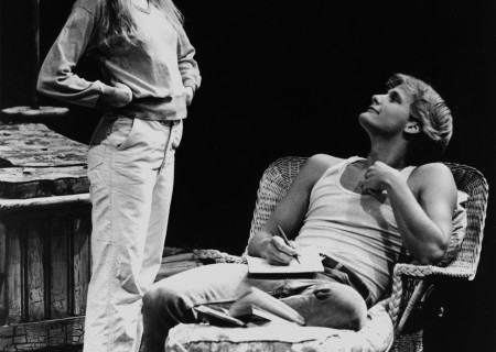Amy Wright and Jeff Daniels in '5th of July' at the Taper.