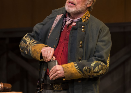 "Michael McKean in ""Father Comes Home From The Wars (Parts 1, 2 & 3)"" at Center Theatre Group/Mark Taper Forum. Written by Suzan-Lori Parks and directed by Jo Bonney, the West Coast premiere of ""Father Comes Home From The Wars (Parts 1, 2 & 3)"" plays April 5 – May 15, 2016. For tickets and information, please visit CenterTheatreGroup.org or call (213) 628-2772. <br />