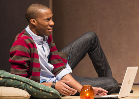 "York Walker in ""The Mystery of Love & Sex"" at the Center Theatre Group/Mark Taper Forum. Written by Bathsheba Doran and directed by Robert Egan, ""The Mystery of Love & Sex"" plays February 10 – March 20, 2016, at the Center Theatre Group/Mark Taper Forum. For tickets and information, please visit CenterTheatreGroup.org or call (213) 628-2772.  <br />
