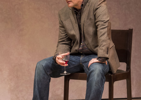 "David Pittu in ""The Mystery of Love &amp; Sex"" at the Center Theatre Group/Mark Taper Forum. Written by Bathsheba Doran and directed by Robert Egan, ""The Mystery of Love &amp; Sex"" plays February 10 – March 20, 2016, at the Center Theatre Group/Mark Taper Forum. For tickets and information, please visit CenterTheatreGroup.org or call (213) 628-2772.  <br />