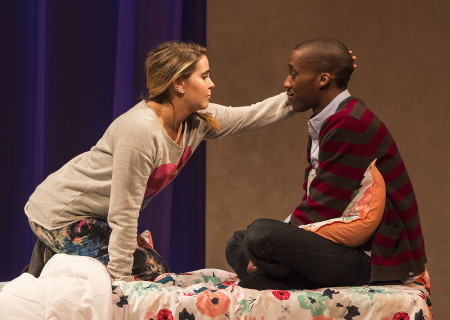 "Mae Whitman and York Walker in ""The Mystery of Love &amp; Sex"" at the Center Theatre Group/Mark Taper Forum. Written by Bathsheba Doran and directed by Robert Egan, ""The Mystery of Love &amp; Sex"" plays February 10 – March 20, 2016, at the Center Theatre Group/Mark Taper Forum. For tickets and information, please visit CenterTheatreGroup.org or call (213) 628-2772.  <br />