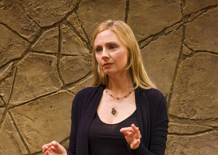 Hope Davis in 'God of Carnage.'