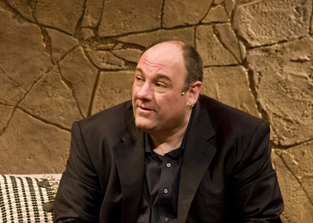 James Gandolfini in 'God of Carnage.'