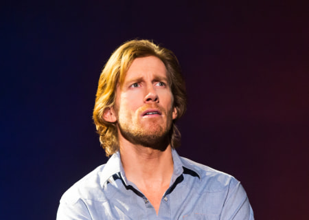 Andrew Samonsky in the Tony Award-winning &quot;The Bridges of Madison County&quot; The Broadway Musical at the Center Theatre Group/Ahmanson Theatre, December 8, 2015, through January 17, 2016. &quot;Bridges&quot; has a book by Marsha Norman, music and lyrics by Jason Robert Brown and is based on the novel by Robert James Waller. Bartlett Sher directs. Tickets are available at CenterTheatreGroup.org or by calling (213) 972-4400.  <br />
