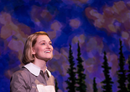 "Kerstin Anderson plays Maria Rainer in the national tour of Rodgers & Hammerstein's ""The Sound of Music,"" directed by Jack O'Brien, now playing at the Center Theatre Group/Ahmanson Theatre through October 31, 2015. Tickets are available at CenterTheatreGroup.org or by calling (213) 972-4400.	<br />