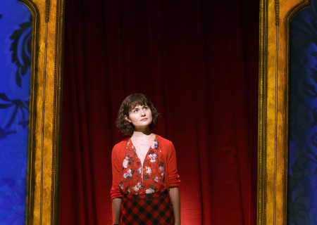 "Phillipa Soo in ""Amélie, A New Musical"" at Center Theatre Group/Ahmanson Theatre. ""Amélie, A New Musical"" plays through January 15, 2017. For tickets and information, please visit CenterTheatreGroup.org or call (213) 972-4400. Contact: CTG Publicity/ (213) 972-7376/CTGMedia@ctgla.org. Photo by Joan Marcus."
