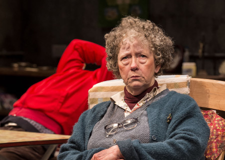 "Marie Mullen in the Druid production of ""The Beauty Queen of Leenane"" by Martin McDonagh. Directed by Garry Hynes, the production runs through December 18, 2016, at Center Theatre Group/Mark Taper Forum. For tickets and information, please visit CenterTheatreGroup.org or call (213) 628-2772. Contact: CTG Publicity (213) 972-7376 / CTGMedia@ctgla.org. Photo by Craig Schwartz."