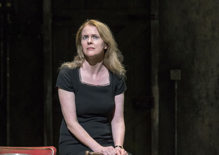 "Aisling O'Sullivan in the Druid production of ""The Beauty Queen of Leenane"" by Martin McDonagh. Directed by Garry Hynes, the production runs through December 18, 2016, at Center Theatre Group/Mark Taper Forum. For tickets and information, please visit CenterTheatreGroup.org or call (213) 628-2772. Contact: CTG Publicity (213) 972-7376 / CTGMedia@ctgla.org. Photo by Craig Schwartz."